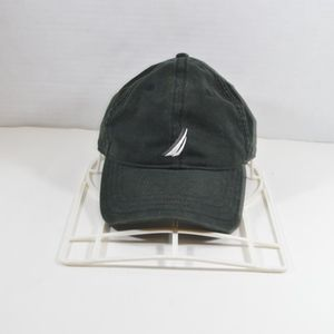 Nautica Spell Out Adjustable Dad Hat Cap Black